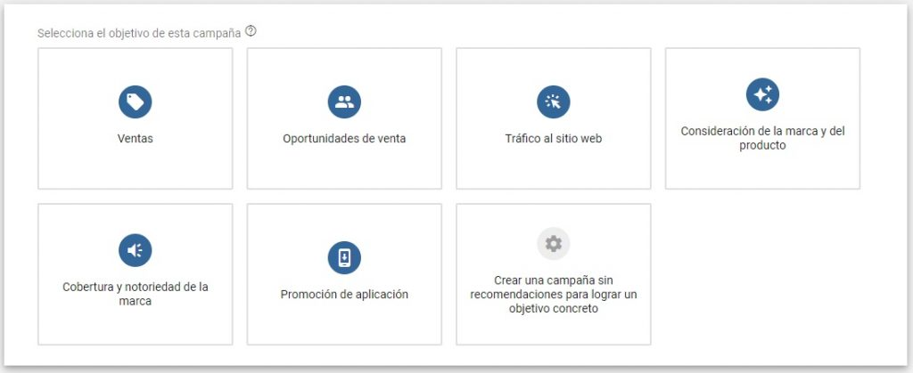 Campaña de google ads Trafficker digital