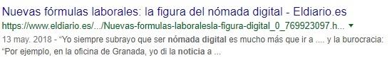 noticias sobre nómada digital